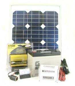 רכיבים למערכת סולארית ביתית