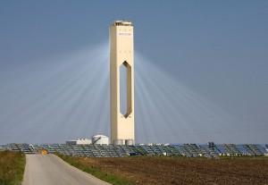מגדל שמש בסביליה, ספרד